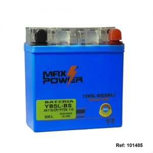 101485 BATERIA YB5L-BS GEL AK110CRYPTON 115 Max Power