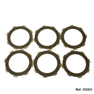 103331 - DISCOS CLUTCH JGO X 6 RX/DT