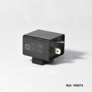 105074 FLASHER DIRECCIONAL 12V ELECTR UNV CUADRADO Con Alerta ZONKO