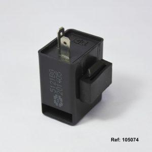 105074 FLASHER DIRECCIONAL 12V ELECTRUNV CUADRADO Con Alerta ZONKO