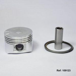 109123 PISTON KIT 0.50 AKT DINAMIC Hasta 2011 SCOOTER 125cc