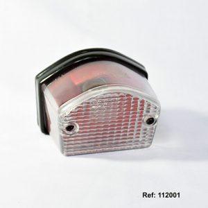 112001 STOP COMPLETO DTK FZ16 Transparente