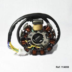 114059 EMBOBINADO Scooter 125 150 JL-EGO Md 06GP-1 Md 08-11 Nucleos Zonko