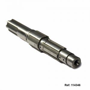 114346 EJE PINON SALIDA solo (165mm) AKT180 175-3W AK235 SIGMA150-SE