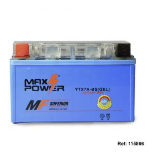 115866 BATERIA YTX7A-BS GEL AKT DINAMICJETHonda ELITE Max Power